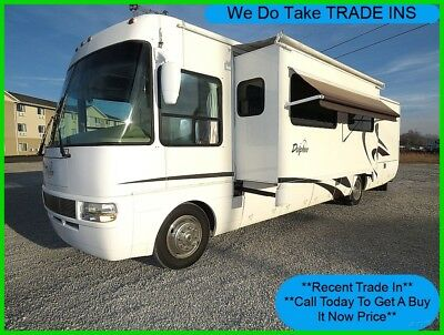 2003 National Dolphin 5380 Used Class A Gas Motorhome Coach RV Slide Monaco
