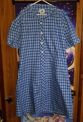 Blue - High School Girls Uniform Dress - Size 22