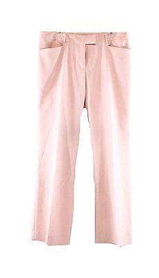 6995-2 Tahari ASL Women's Straight-Leg Trouser Pants Marina Resort pink 16, $89
