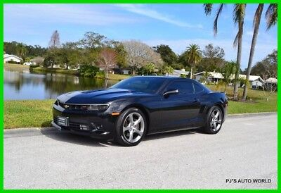 2014 Chevrolet Camaro SS 2dr Coupe w/2SS 2014 SS 2dr Coupe w/2SS Used 6.2L V8 16V Manual RWD Coupe Premium OnStar