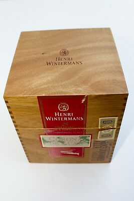 Scatola Portasigari Umidificatore Cigar Humidor Henri Wintermans Originale 1990