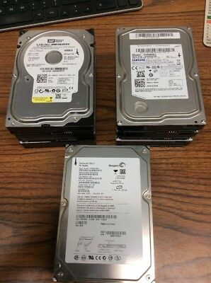 "Lot Of 8 SATA Desktop Computer Hard Drives 80GB 3.5"" - TESTED"