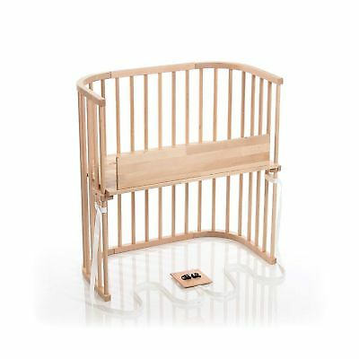 babybay Bedside Sleeper (Light Gloss Finish) Light Gloss Finish