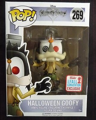 Kingdom Hearts - Pop! - Goofy Halloween NYCC 2017  - Funko