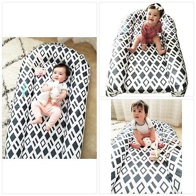 Portable Baby Bed Crib to Bed Transition Breathable, Hypoallergenic, Non-Toxic