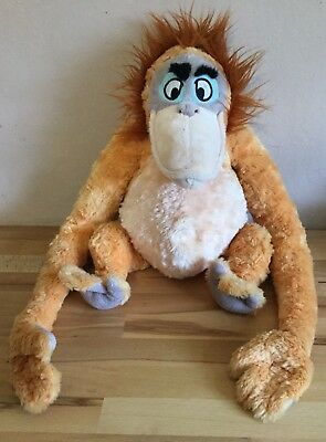 "King Louie Soft Toy Plush The Jungle Book Disney Store Exclusive Stamped 13"" 💖"