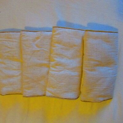 Four Cot bar bumpers Mamas and Papas. Cream Very good condition