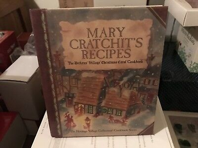 Dept 56 Dickens Village Christmas Carol Cookbook Mary Cratchits Receipe Book