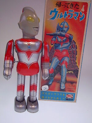 "Gs Japan Heroes ""return Of Ultraman"" Bullmark, W/u, Japan, Nearly New/good Box !"