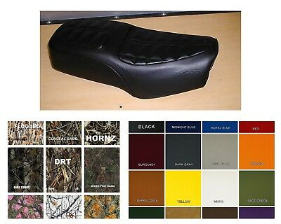 Suzuki GN125 Seat Cover 1989-ALL GN 125  in 25 COLORS or 2-tone    (ST/EE/W)