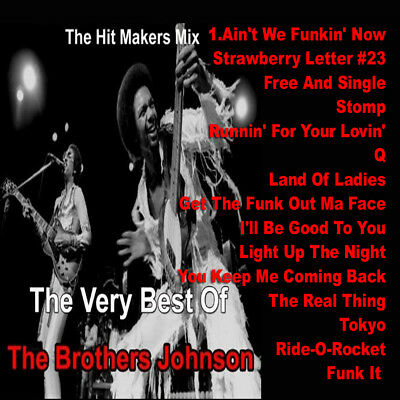 Best Of The BROTHERS JOHNSON Mixtape DJ Compilation Mix CD Old School Lovers Mix