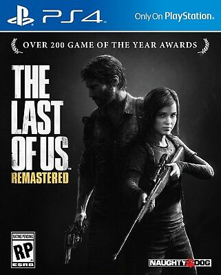 The Last of Us Remastered - PS4 - PlayStation 4 - no phys