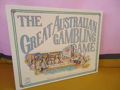 THE GREAT AUSTRALIAN GAMBLING GAME1987 Crown/Andrews COMPLETE/INSTRUCTIONS #5033
