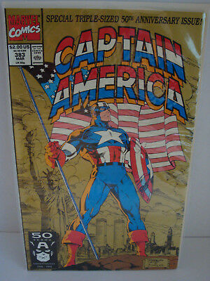 Captain America: Special Triple-Sized 50Th Anniversary Issue 1991 Nm Bagged