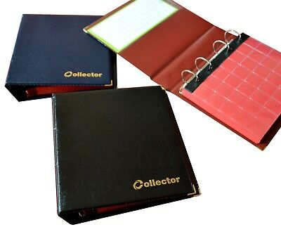 Collector Coin Album for 300 Coins Mix Sizes Book Folder Big Capacity Many Pages