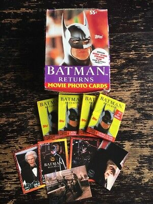 Batman Returns Topps Trading Cards 1991 (Single Packs)