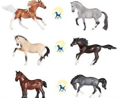 Breyer Stablemate Horse IN STOCK New for 2018 Mystery Foal Surprise FULL SET 3
