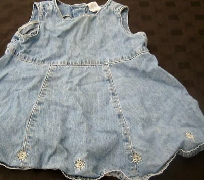 Baby Girl Denim Dress From Babygap Age 12-18Months