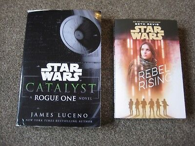 Star Wars Rogue One Prequels - Catalyst & Rebel Rising - Paperbacks