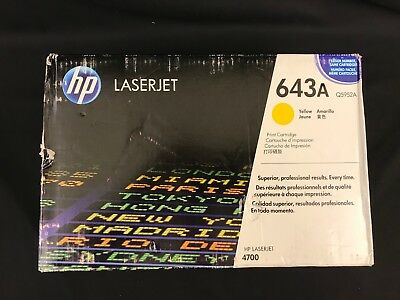 HP Laserjet  643A Toner Cartridge Yellow Q5952A