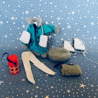 """Madeline 8"""" doll Eden/LearningCurve **  GREEN ICE SKATING **  Outfit Clothes Set"""