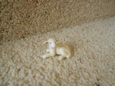 Schleich Baby Lamb laying down