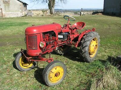 Massey Harris Pony 811, 1952, with French log book,