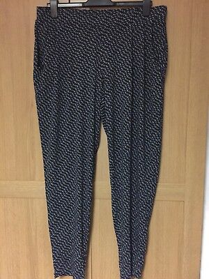Next Maternity Harem Trousers Size 14