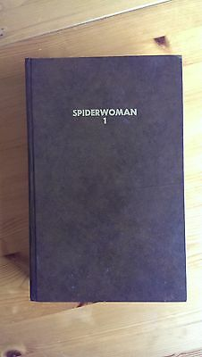 "1970's Marvel comic ""SpiderWoman"" bound volume #1"