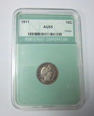 1911 Barber Dime Great Cond. Strong Full Liberty   *** Free Shipping ***