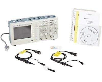Tektronix TDS1002B 60MHz Oscilloscope with USB - boxed with all accessories