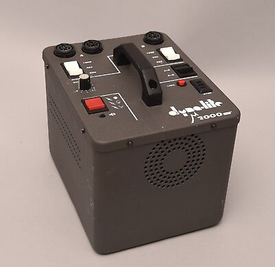 Dynalite m2000er 2000WS Studio Flash Power Pack