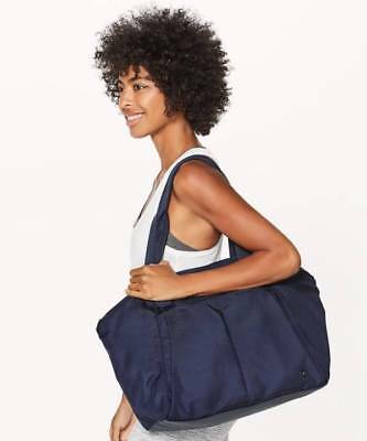 Lululemon Free To Be Bag 20L MDNI Midnight Navy NWT Yoga Workout Tote LAST ONE