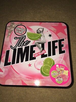 Brand new Soap & Glory 'The Lime of your life' gift set