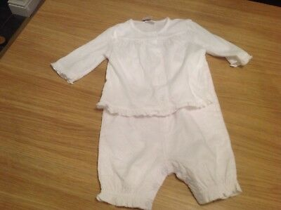 F&F girls outfit with cardigan age 6/9 months