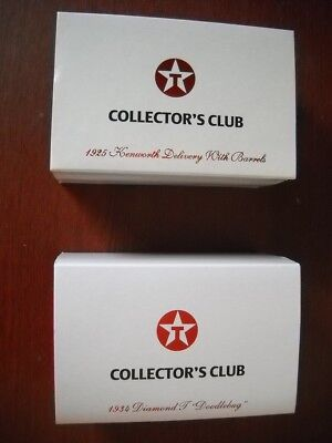 Texaco Collectors Club