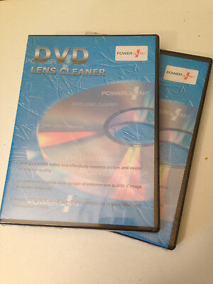 2 x DVD Lens cleaner by Power Plus