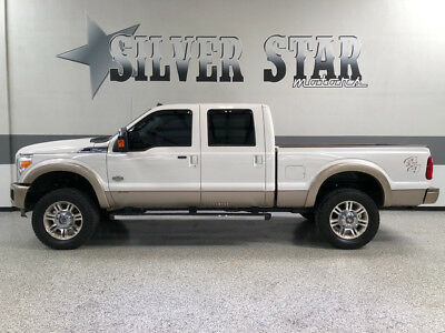 2012 Ford F-250  2012 F250 King Ranch 4WD CrewCab ShortBed Powerstroke 35s Loaded TX!