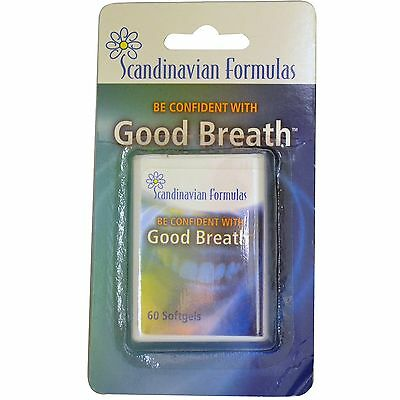 Natural Breath Freshener Parsley Seed Oil X 60 Softgels Oral Care Mouth Fresh
