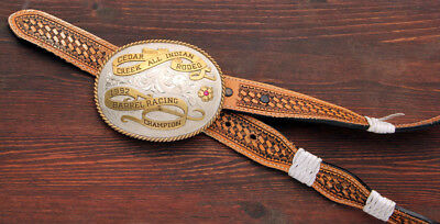 Spectacular! Rodeo Champion Barrel Racer Trophy Buckle! No Reserve!