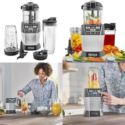 Ninja Nutri Bowl Duo Chef with Auto-iQ 1200W Blender NN100UK