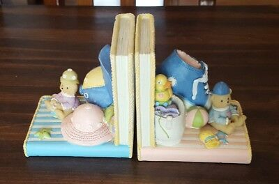 Set Of Bookends For Babys Room In Excellent Condition!!