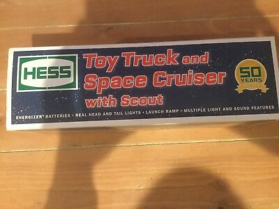 Hess 2014 Toy Truck and Space Cruiser New In Box !!!! Rare!!!