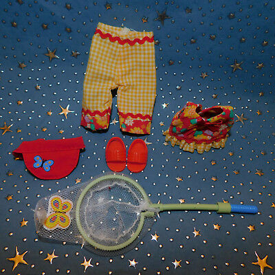 """Madeline 8"""" doll Eden/LearningCurve  ** BUTERFLY CATCHER  **  Outfit Clothes Set"""