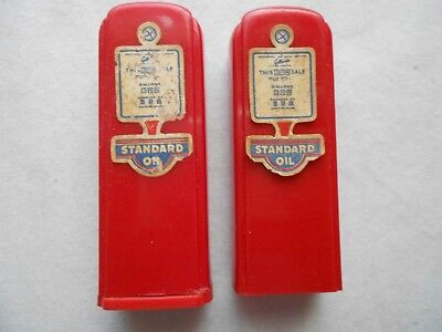 Pair of Standard Oil Salt & Pepper Shakers / James G. Harrison - Beattyville, Ky