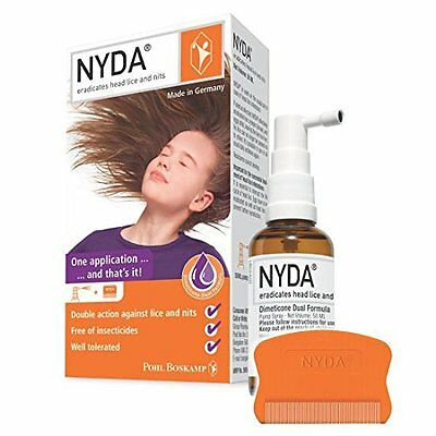 NYDA-HeadLice Treatment for HairCare(A Simple Spray That Eradicate HeadLice egg)