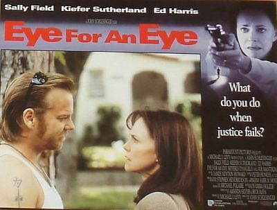 EYE FOR AN EYE - 11x14 US Lobby Cards Set - Kiefer Sutherland, Sally Field