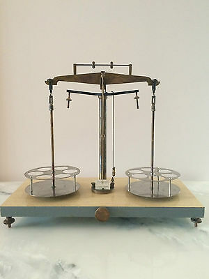 Antique N.G. BROWN MELBOURNE 1960's Assay Laboratory Balance Scales