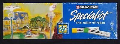 Artists Oil Pastels 25 Cray-Pas Sakura drawing painting Premium Art Materials
