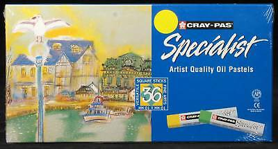 Artists Oil Pastels 36 Cray-Pas Sakura drawing painting Premium Art Materials